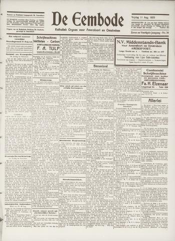 De Eembode 1933-08-11