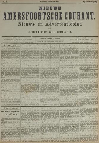 Nieuwe Amersfoortsche Courant 1886-03-10