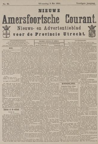 Nieuwe Amersfoortsche Courant 1911-05-03