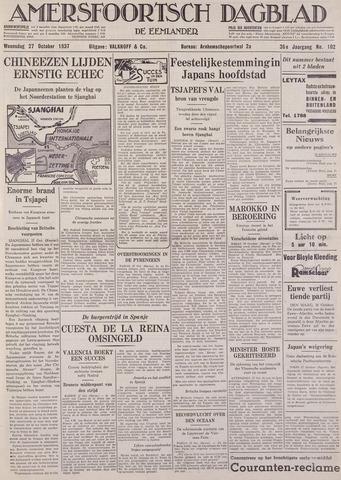 Amersfoortsch Dagblad / De Eemlander 1937-10-27