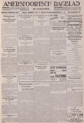 Amersfoortsch Dagblad / De Eemlander 1934-09-19