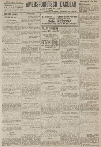 Amersfoortsch Dagblad / De Eemlander 1925-04-15