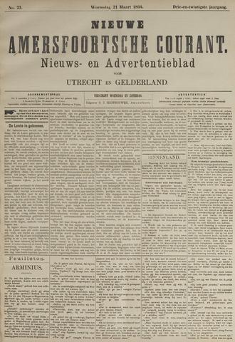 Nieuwe Amersfoortsche Courant 1894-03-21
