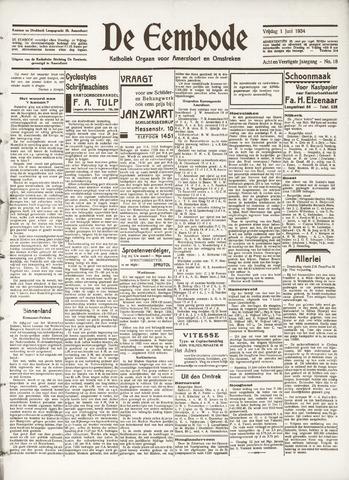 De Eembode 1934-06-01