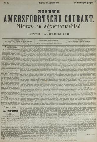 Nieuwe Amersfoortsche Courant 1892-08-20