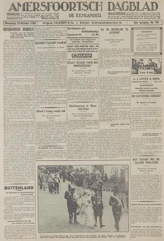 Amersfoortsch Dagblad / De Eemlander 1930-10-29