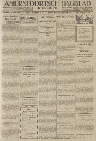 Amersfoortsch Dagblad / De Eemlander 1931-03-12