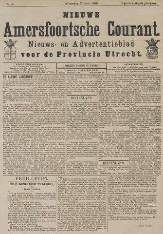 Nieuwe Amersfoortsche Courant 1906-06-27