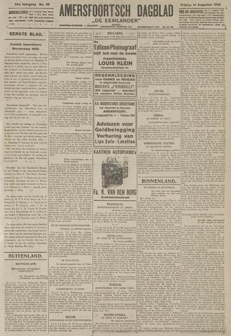 Amersfoortsch Dagblad / De Eemlander 1925-08-14