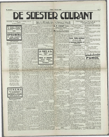 Soester Courant 1929-02-01