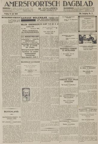 Amersfoortsch Dagblad / De Eemlander 1929-07-12