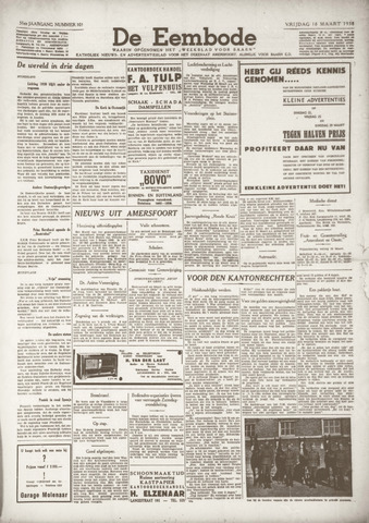 De Eembode 1938-03-18