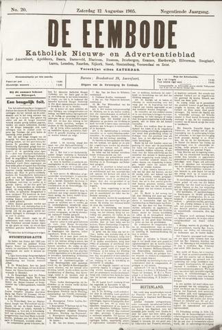 De Eembode 1905-08-12