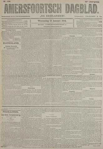 Amersfoortsch Dagblad / De Eemlander 1914-01-21