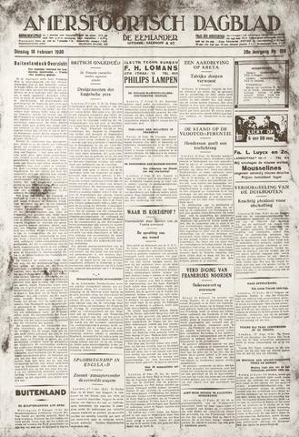 Amersfoortsch Dagblad / De Eemlander 1930-02-18