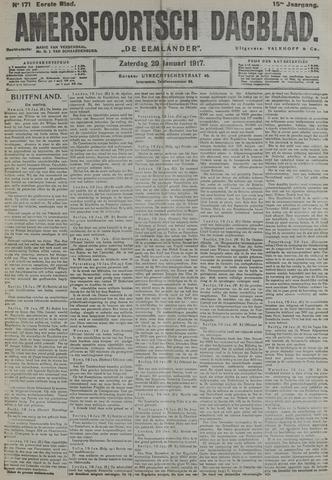 Amersfoortsch Dagblad / De Eemlander 1917-01-20