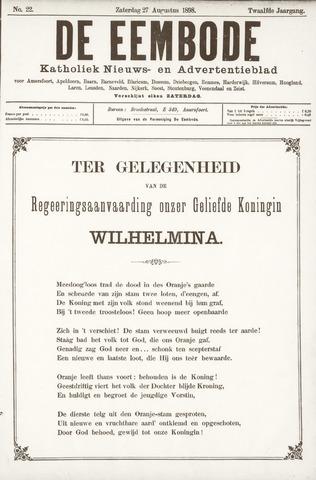 De Eembode 1898-08-27