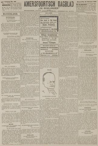 Amersfoortsch Dagblad / De Eemlander 1926-02-10