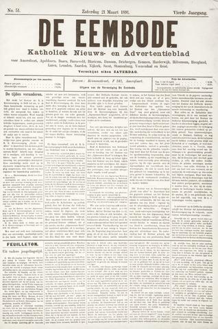 De Eembode 1891-03-21