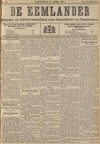 De Eemlander 1908-04-11
