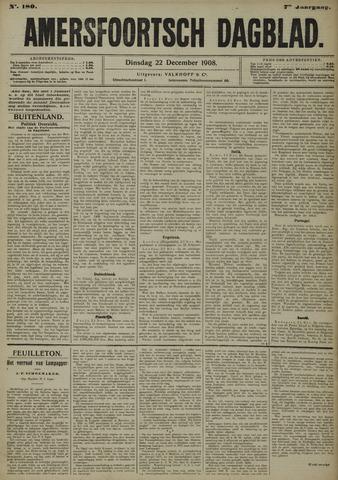 Amersfoortsch Dagblad 1908-12-22