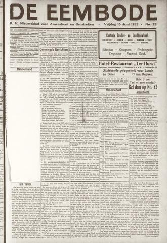 De Eembode 1922-06-16