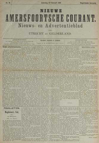 Nieuwe Amersfoortsche Courant 1890-02-22