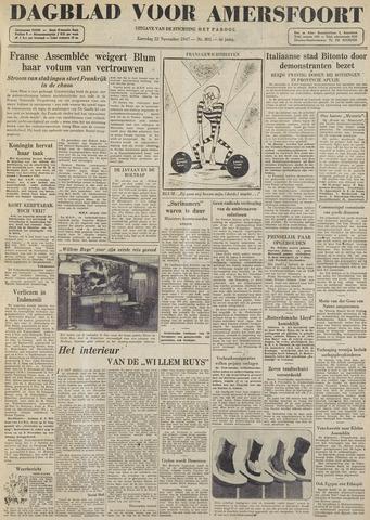Dagblad voor Amersfoort 1947-11-22