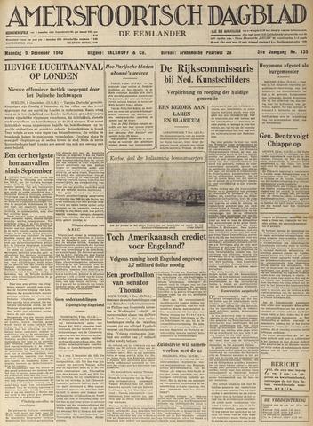 Amersfoortsch Dagblad / De Eemlander 1940-12-09