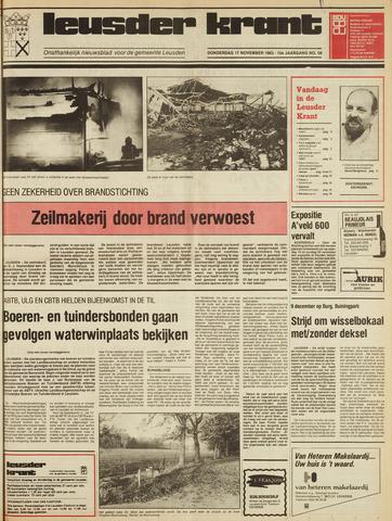 Leusder Krant 1983-11-17