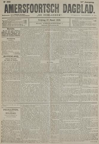 Amersfoortsch Dagblad / De Eemlander 1916-03-17