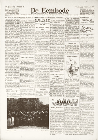 De Eembode 1941-02-28