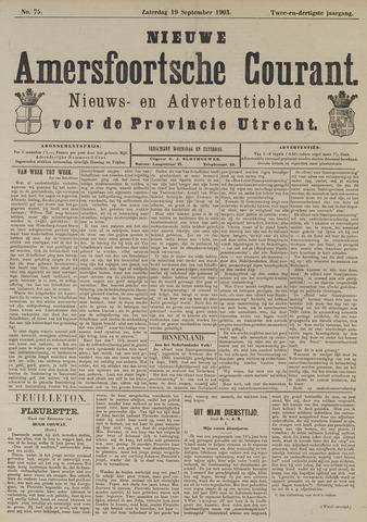 Nieuwe Amersfoortsche Courant 1903-09-19