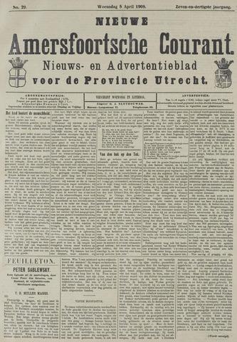 Nieuwe Amersfoortsche Courant 1908-04-08