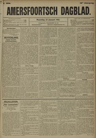 Amersfoortsch Dagblad 1912-01-22