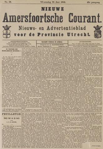 Nieuwe Amersfoortsche Courant 1913-06-25