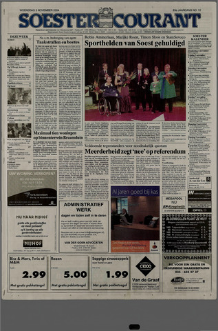 Soester Courant 2004-11-03