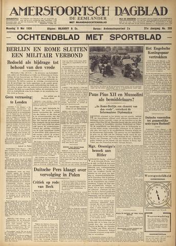 Amersfoortsch Dagblad / De Eemlander 1939-05-08
