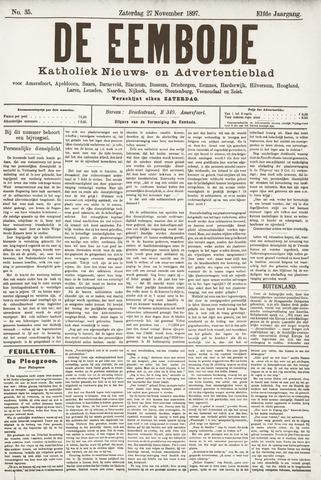 De Eembode 1897-11-27