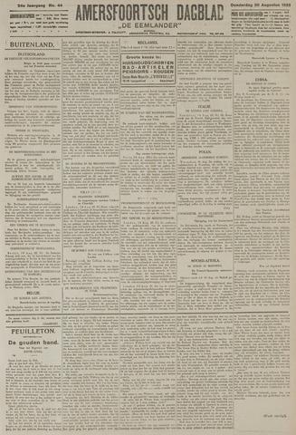 Amersfoortsch Dagblad / De Eemlander 1925-08-20