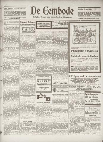 De Eembode 1933-04-04