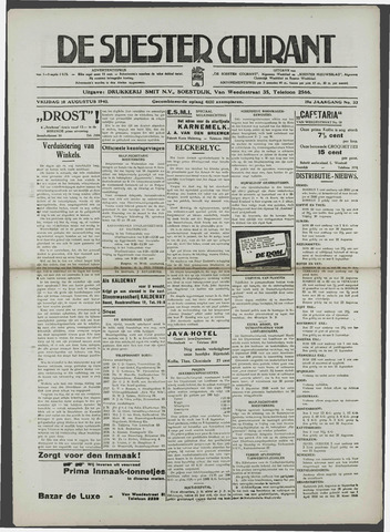 Soester Courant 1940-08-16
