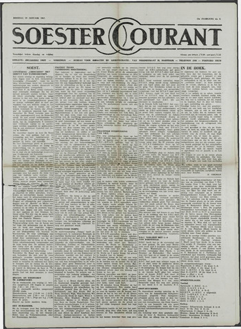 Soester Courant 1957-01-29
