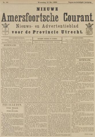 Nieuwe Amersfoortsche Courant 1900-05-23