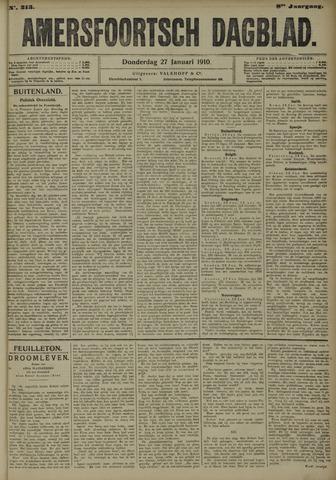 Amersfoortsch Dagblad 1910-01-27