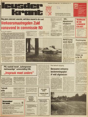 Leusder Krant 1981-10-06