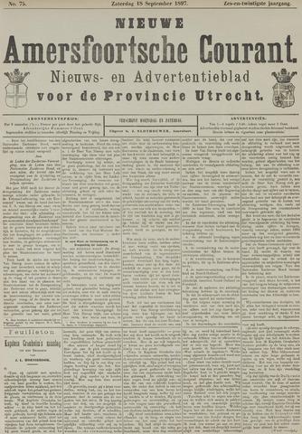 Nieuwe Amersfoortsche Courant 1897-09-18