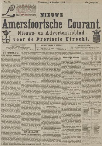 Nieuwe Amersfoortsche Courant 1916-10-04