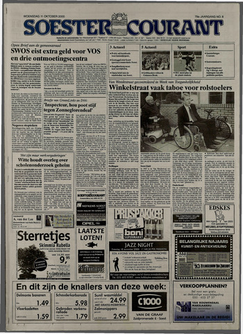 Soester Courant 2000-10-11