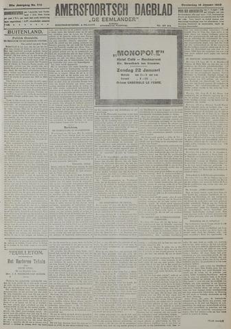 Amersfoortsch Dagblad / De Eemlander 1922-01-19